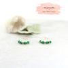 boucles d'oreilles PALMI Créoles // Boucles d'oreilles PALMI Créole // Plaqué or et pierres fines - Collaboration Des Petits Hauts, Les Pierrettes